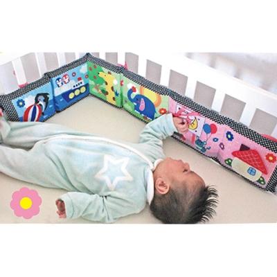 日本CAR-BOY-趣味雙面床圍布書(寶寶最喜愛的6種趣味玩具)