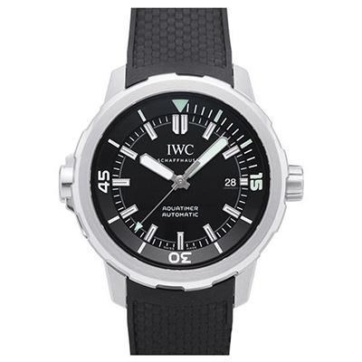 IWC 萬國錶 海洋系列三針黑面橡膠腕錶(IW329001)-42mm