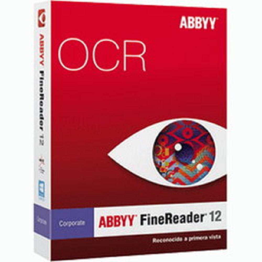 ABBYY FineReader OCR 12 [企業單機版] (下載版)