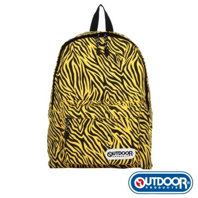 OUTDOOR-華麗搖滾系列-野性摩登後背包-亮黃虎紋-ODA02TG