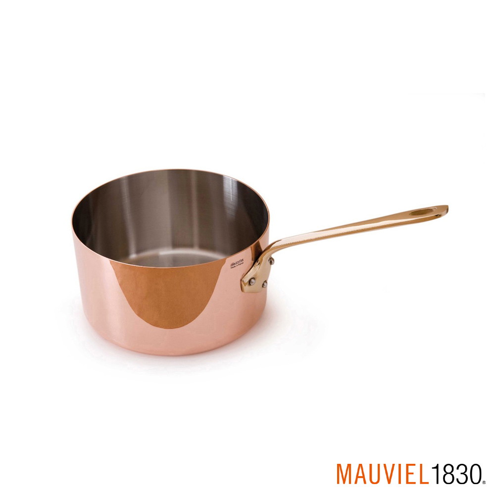 法國Mauviel 紅銅單手迷你鍋-7cm