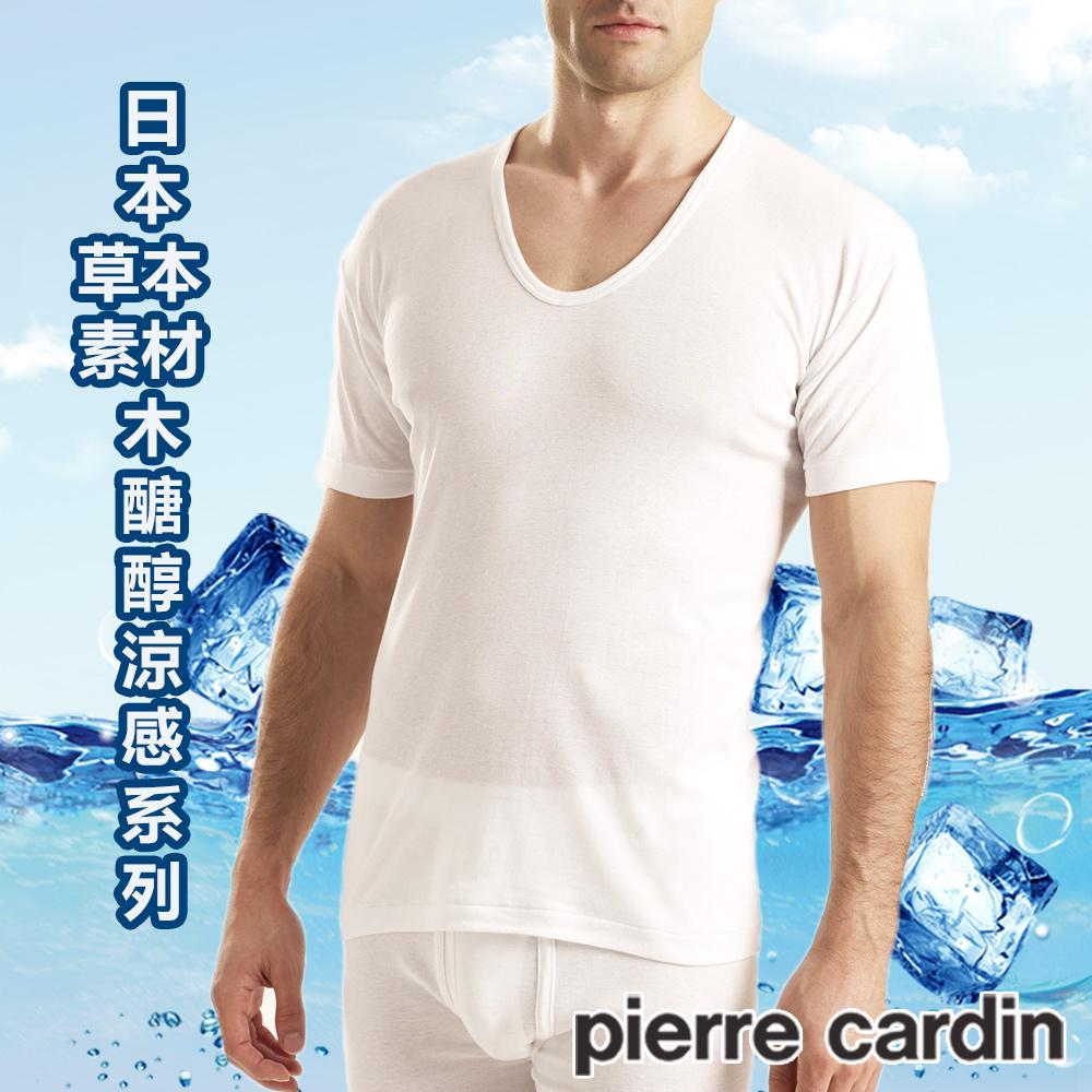 Pierre Cardin皮爾卡登 木醣醇涼感短袖衫-單件