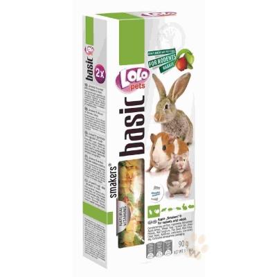 LoLo 鼠兔棒棒糖( 蘋果)90g 2入