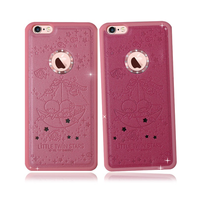 正版授權 雙子星iPhone 6S Plus星鑽金莎手機殼(水中漫遊)
