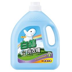 白鴿 天然酵素洗衣精 柔纖抑菌-3000g