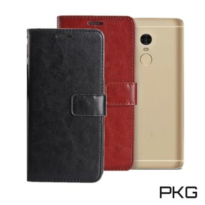 PKG Xiaomi 小米MAX2皮套側翻式皮套-經典皮革系列