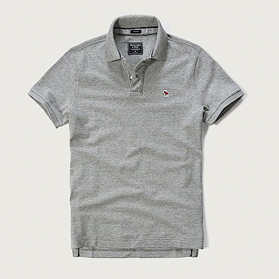 AF a&f Abercrombie & Fitch POLO 灰色 0766