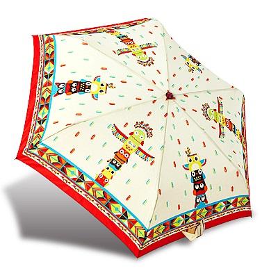 RAINSTORY印地安貓頭鷹抗UV輕細口紅傘