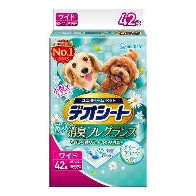 日本Unicharm 消臭大師 森林香狗尿墊(LL)(42片/包)