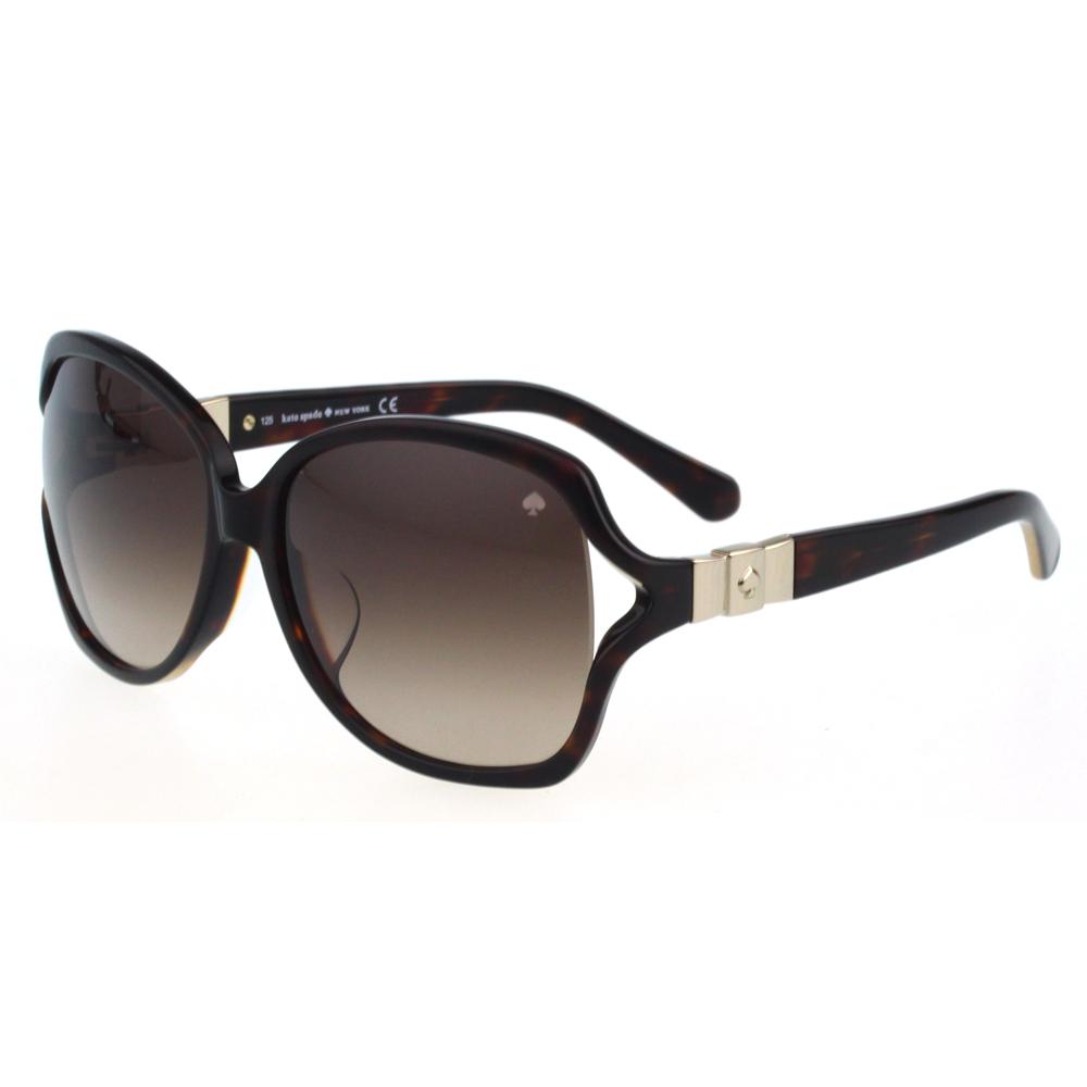 Kate Spade-蝴蝶結造型 太陽眼鏡(琥珀色)