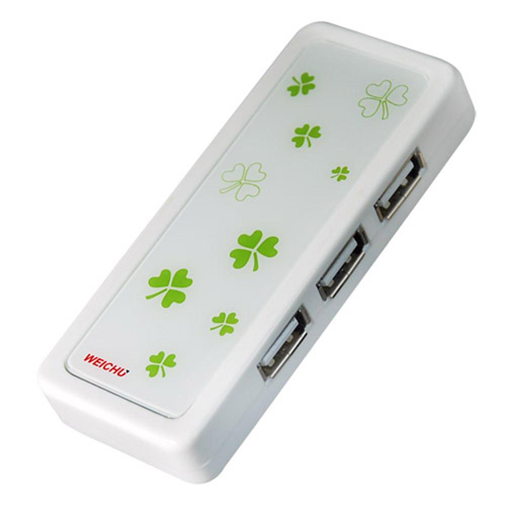 威聚科技 WEICHU 幸運戀 USB2.0HUB+52多合一讀卡機 (HR-520W)