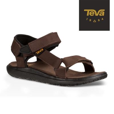 【TEVA】原廠貨 中童 Terra-Float Universal Lux 輕量休閒涼鞋/雨鞋/水鞋(咖啡-TV110345CBRN)