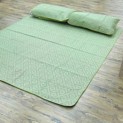范登伯格 - 菱格 天然植草雙人床蓆 (150x190cm)