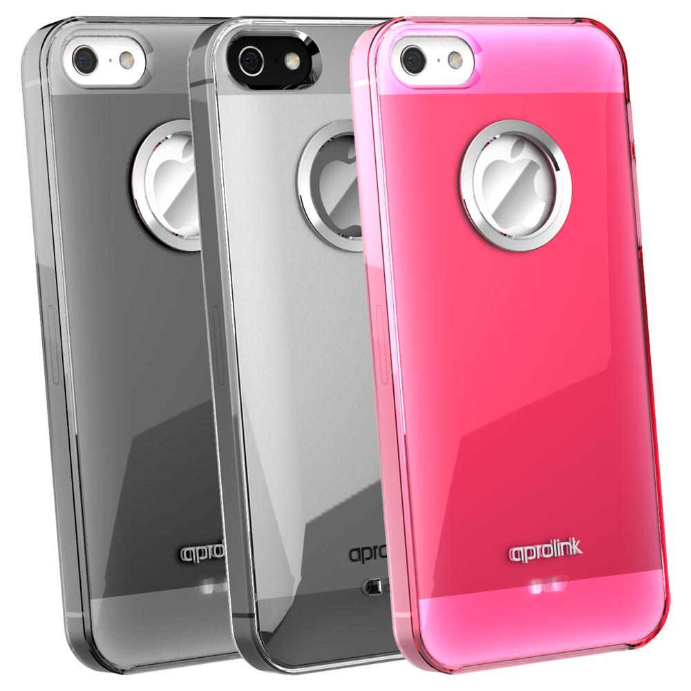 AproLink iPhone5/5S 琉璃鋁環外殼