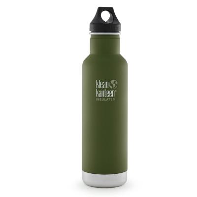 美國Klean Kanteen經典保溫瓶592ml-松葉綠