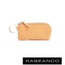 RABEANCO 迷時尚系列鑰匙零錢包 淡香橙