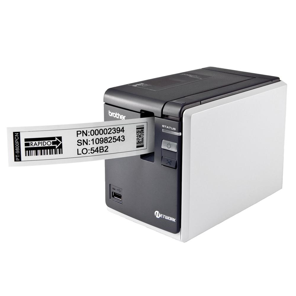 brother PT-9800 PCN 超高速財產標籤條碼列印機
