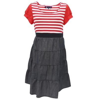 【ohoh-mini 孕婦裝】經典美國風蛋糕裙孕婦洋裝