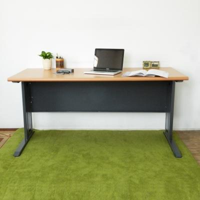 時尚屋 CD150木紋辦公桌 寬150cm-DIY