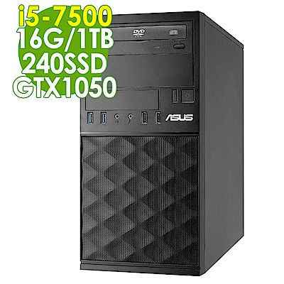 ASUS MD590 i5-7500/16G/1T+240SSD/GTX1050/W10P