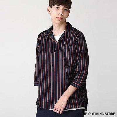 七分袖古巴襯衫(10色) ZIP日本男裝