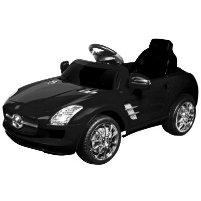 寶貝樂 賓士附遙控兒童電動車-貴族黑