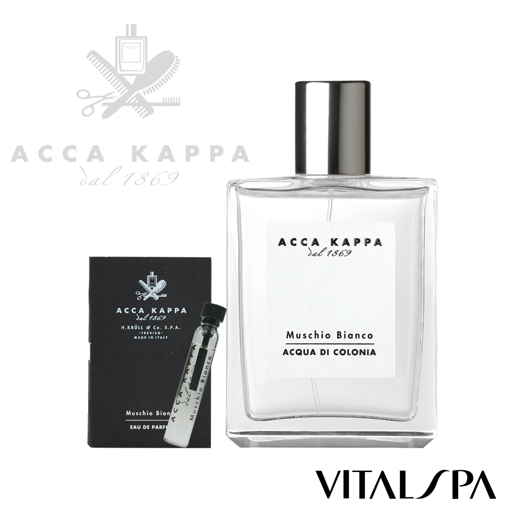 ACCA KAPPA 白麝香香水100ml+白麝香經典淡香精2ml