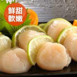 特選北海道超大生干貝 生食級 500克/包