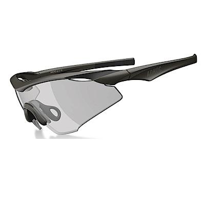 【ADHOC】運動太陽眼鏡-極速變色灰片-半框式ARCHE