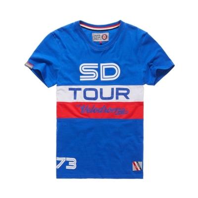 SUPERDRY 極度乾燥 短袖 文字T恤 藍色