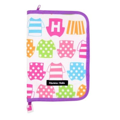 日本Hanna Hula-多用途手冊包-親子手冊/健保卡等(小衣褲)