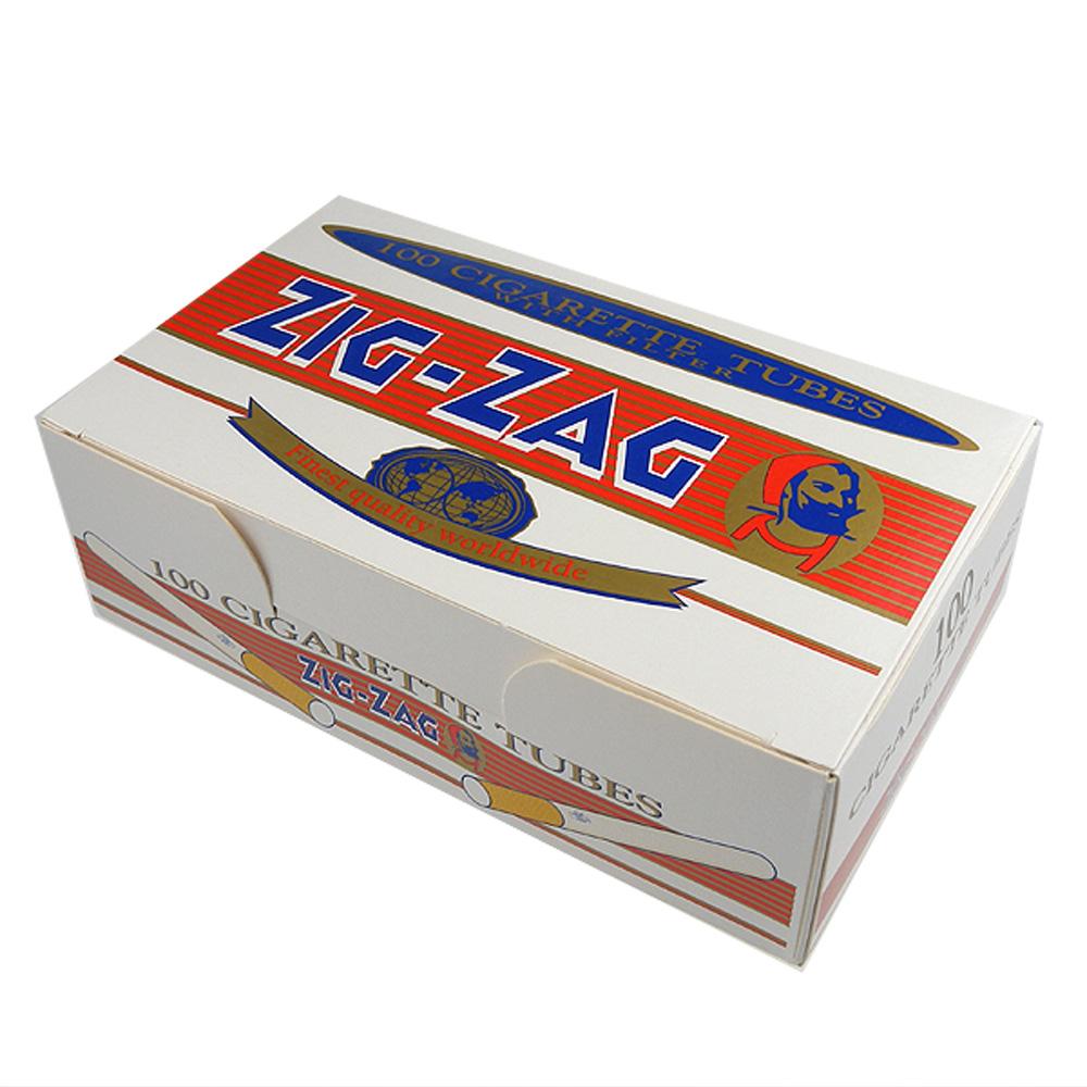 【ZIG-ZAG】空煙管-100支裝*2盒