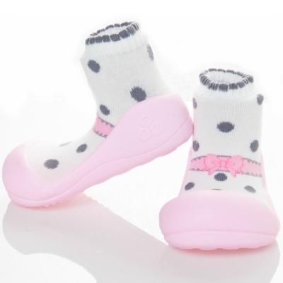 韓國Attipas 快樂學步鞋AB02-芭蕾粉紅