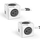 《1+1特惠》PowerCube 擴充延長線精選-USB 1.5m雙件組