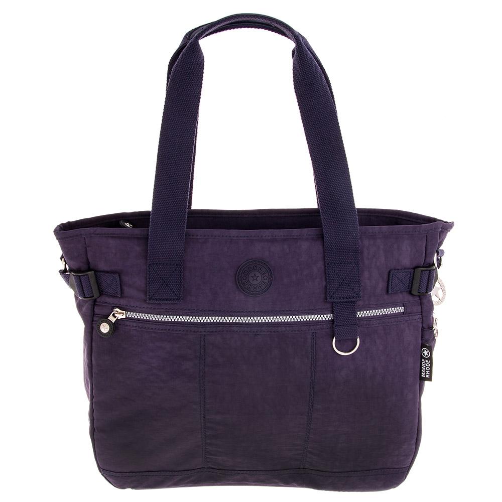 MANDE RHODE 曼德羅德 品牌肩背兩用包-深藍色(3016)