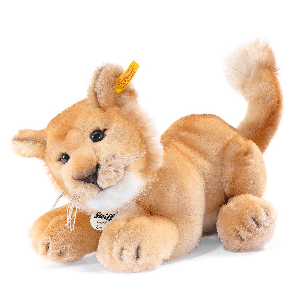STEIFF德國金耳釦泰迪熊 - Leo Baby Lion(28cm)