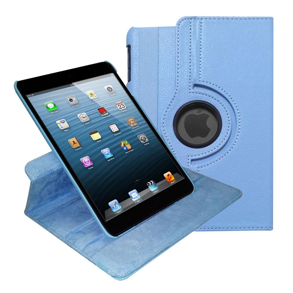 iPad mini 可旋轉多功能皮套(可喚醒、休眠)