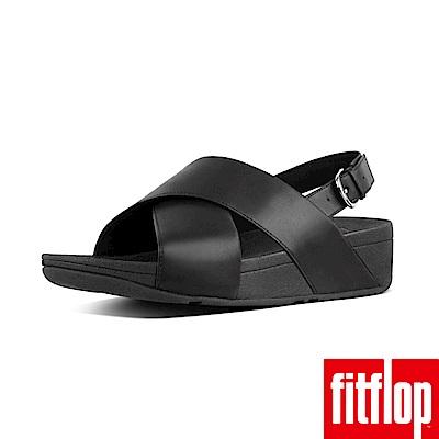FitFlop LULU TM CROSS BACK-STRAP LEATHER黑