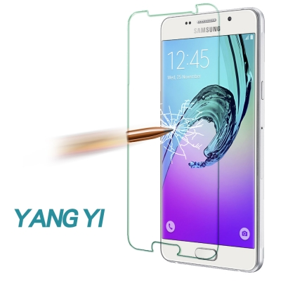 YANG YI 揚邑 Samsung A5 2016版 防爆防刮 9H鋼化玻璃保...