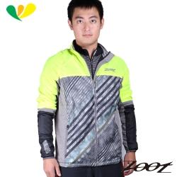 ZOOT 超潑水雙層防風外套(螢光黃)(男) Z1604074