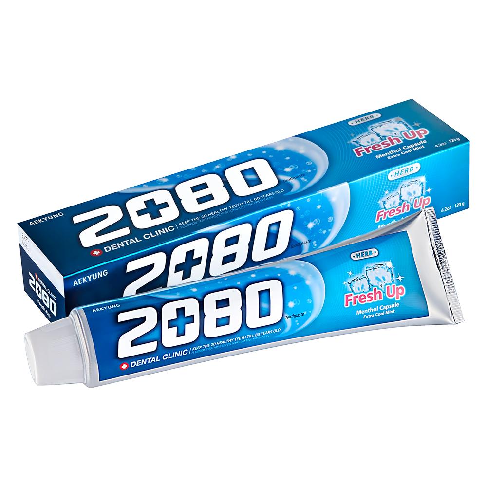 韓國2080 草本清新護齦牙膏(120gX2入)