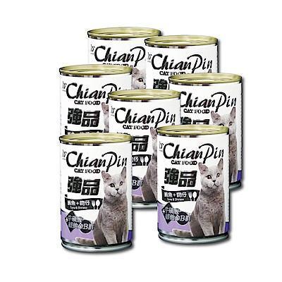 寵物物語-強品貓罐-鮪魚+吻仔魚400G-24罐