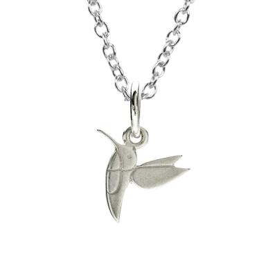 Dogeared 許願項鍊 銀色甜美蜂鳥 Sweet Hummingbird 附原廠盒