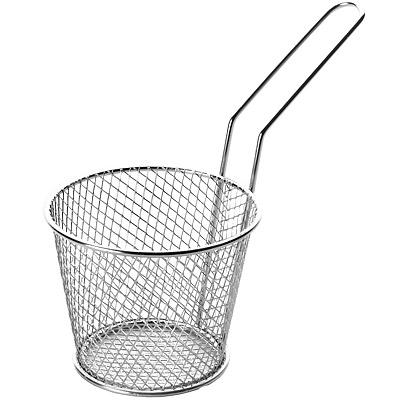 IBILI Clasica不鏽鋼炸物籃(圓8.5cm)