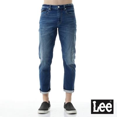 Lee 牛仔褲 755低腰3D標準牛仔褲-男款-藍