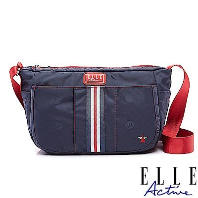 ELLE Active 70周年復刻系列-側背包/斜背包-中-藍色