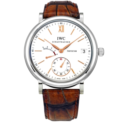 IWC 萬國錶 Portofino IW510103柏濤菲諾手上鍊8日動力儲存腕錶-45mm