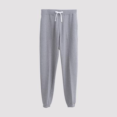 Hang Ten - 男裝 - 運動潮流素面直筒棉褲 - 灰