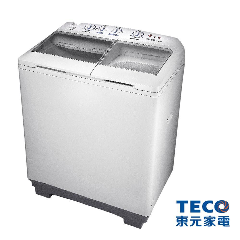 東元 10公斤雙槽洗衣機(W1088TW)
