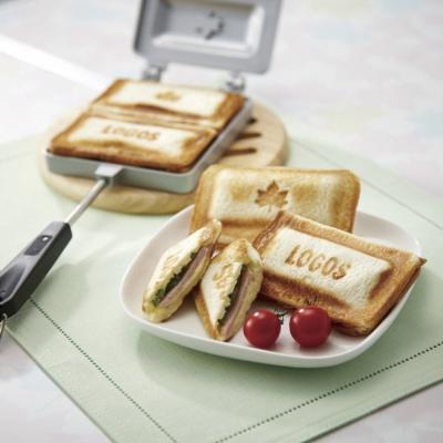 【日本LOGOS】花露露楓烙三明治烤具-81062239 露營.戶外野炊.烤盤